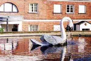 The Mistley Swan Statue